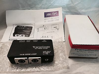 Peter Engh Transcode Time Code Transcription Box