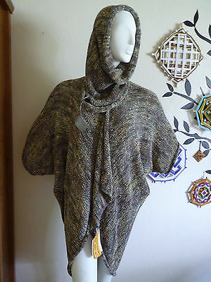Handmade Cardigan and Scarf Tube Machine Knitted by Artist Marci Blank One Size