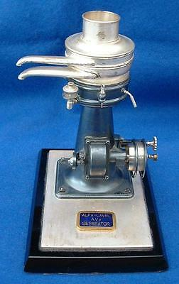 Alfa Laval Company old separator desk scale model – from the 1930ies