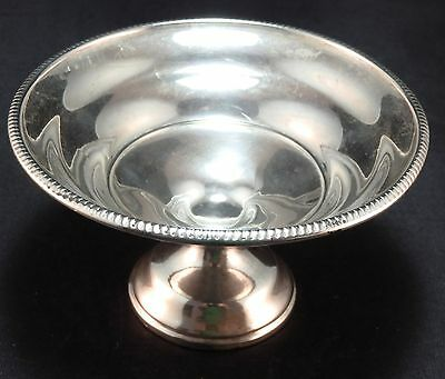 Vintage Sterling Silver Footed Compote / Bowl