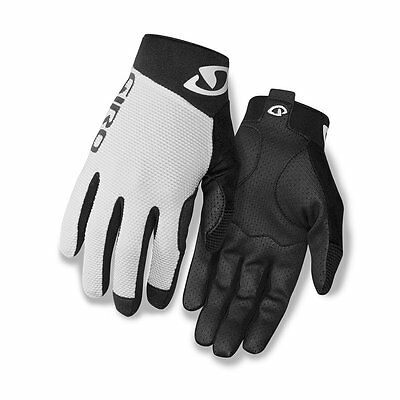 Giro Rivet II Cycling Gloves - Men's (White/Black / (XL) X-Large)