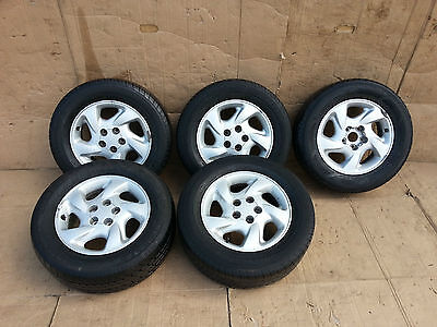 Toyota Rav4 Set Of (5) Alloy Wheels With Tyres ... 235/60R16