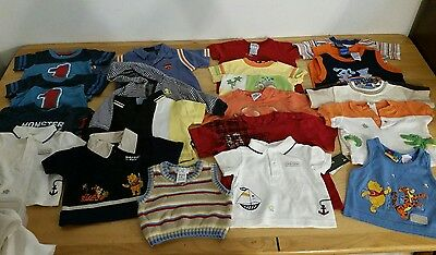 Baby Boys Clothes Toddler Summer Tank Tops, T Shirts Tops Size 6 - 18 months Lot