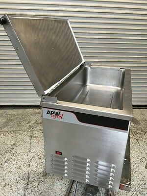 Countertop Cold Well Topping Station APW CTCW #6429 Commercial Cold Food Display