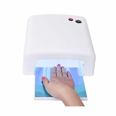 MAKARTT 36W UV Curing Lamp for UV Nail Gel Nail Dryer with Sliding Tray