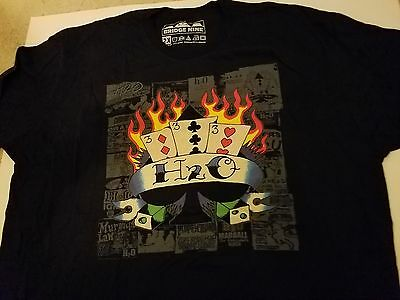 NYHC H2O Limited edition T-Shirt OOP RARE HAND NUMBERED 195 OF 200 DOUBLE XL