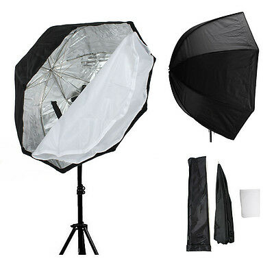 "30""/80CM Octagon Softbox Umbrella Brolly Flash Speedlite Speedlight Reflector AU"
