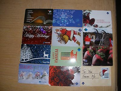 Sam's Club  12 different new collectible gift cards