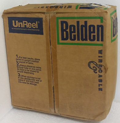 Belden Unreel Coaxial Cable 8241 01 0U1000Ft, 304 Mtr Blk (Old Stock) Unopened