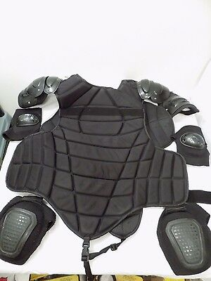 Galls Advanced Upper Body Chest Protection Prison Riot Gear Te316Lxl Police Prep
