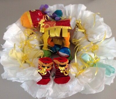 Diaper Wreath Size 1 Diapers Baby Boy