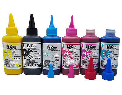CISS Refillable Refill Pigment Ink for Epson Stylus Photo 1400 1500W Non-OEM