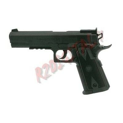 Pistola Giocattolo Colt C45 Wg Heavy Model C304B Hop Up Pallini Metal Win Gun
