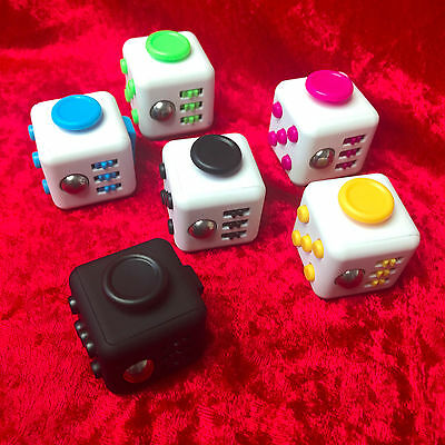 Magic Fidiget Cube Stress Relief Figget Fidget Focus Gift For Adult Kids
