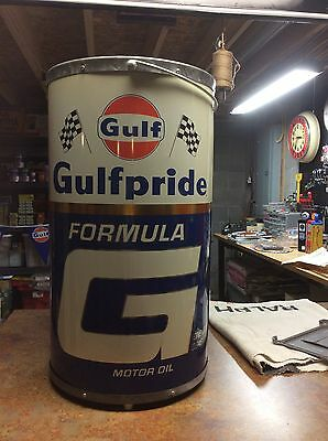 "N.O.S. ""Gulf"" Pump Island Waste Dispenser - Rare N.O.S."