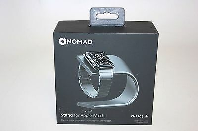 GENTLY USED Nomad Charging Stand for Apple Watch Space Gray NOMADSTAND