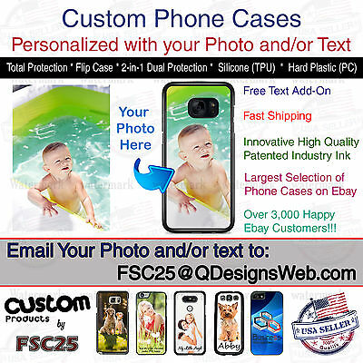Custom Phone Case Cover Personalized Photo image fits iPhone 6s or fits iPhone 6