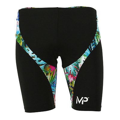 MP Michael Phelps Mens Jammers - Training Swimwear - Flores - RRP $65