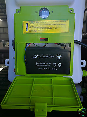 New 20L 8Ah Farmguard Rechargeable Battery Electric Knapsack Weed Killer Sprayer