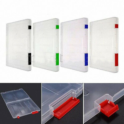 A4 Files Plastic Document Storage Box Holder Paper Office School Organizer New