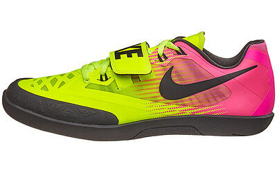NEW Nike Zoom Rival SD 4 Throw Track & Field Shoes Volt/Pink 685135-999 + Bag