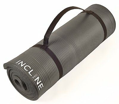 Incline Fitness Extra Thick and Long Comfort Foam Yoga/Exercise Mat