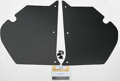 HOLDEN HK HT HG Kick Panels Black (pair) Inc 6 Trim Buttons **Top Quality**
