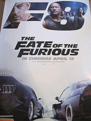 The Fate of the Furious - one sheet movie poster