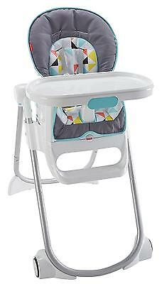 Fisher Price 4 in 1 Total Clean High Chair Geometric