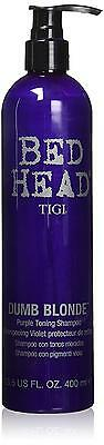 BED HEAD Tigi Dumb Blonde Purple Toning Shampoo, 13.50 Ounce