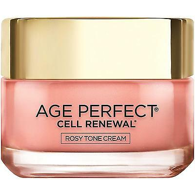 L Oreal Paris Age Perfect Cell Renewal Rosy Tone, Anti Aging Tinted...
