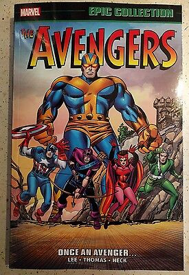 AVENGERS EPIC COLLECTION ONCE AN AVENGER GRAPHIC NOVEL brand new