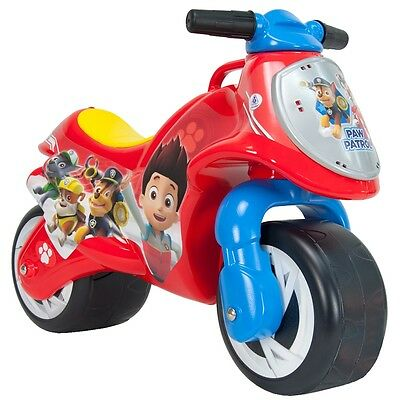 Paw Patrol Foot to Floor Ride-On Motorbike, Big Wheels Indoor/Outdoor Bike
