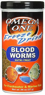 OmegaSea Food 50401 FD Blood Worms, .96 oz, 1 Can