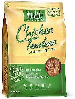 VitaLife All Natural Dog Treats Chicken Tenders 16 oz 454 g