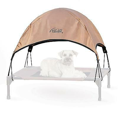 K H Manufacturing 25 by 32 Inch Pet Cot Canopy Only , Medium, Tan