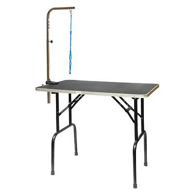 Go Pet Club GT 101 30 Inch Dog Grooming Table with Arm