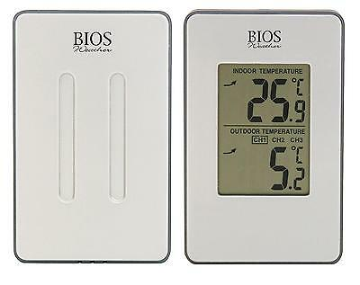 Bios Thermor Indoor Outdoor Wireless Thermometer, Weather Monitor
