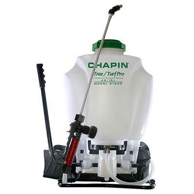Chapin 61900 Tree Turf Pro Commercial Backpack Sprayer SS Wand, 4 Gallon