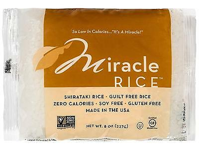 Miracle Noodle Rice, 8 oz Pack of 6