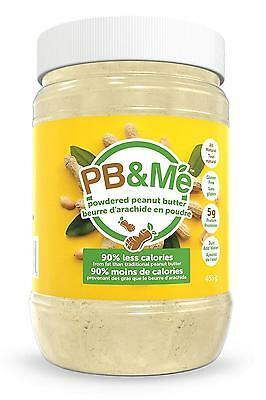 PB Me Powdered Peanut Butter Traditional 90 Percent Less Fat 1 Pound