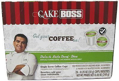 Cake Boss Dulce De Leche Decaf Coffee Capsule, Compatible with Keurig K Cup...