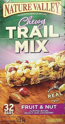 Nature Valley Fruit and Nut Chewy Trail Mix, 32 Count, 1120 Gram