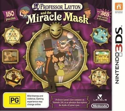 Nintendo DS Professor Layton and the Miracle Mask New