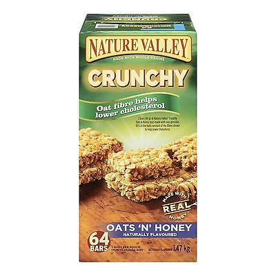 Nature Valley Oats n Honey Crunchy, 64 Count, 1472 Gram
