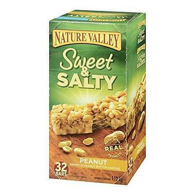 Nature Valley Sweet and Salty Peanut Chewy Nut Bars, 32 Count, 1120 Gram