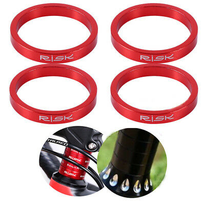 Aluminium Alloy Genuine 3Colors Spacers For Stem Bicycle Bike Headset Washer