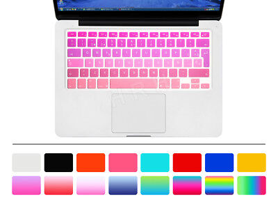 Spanish Silicone Keyboard Cover Skin Protector for Macbook Retina Pro Air 13 15
