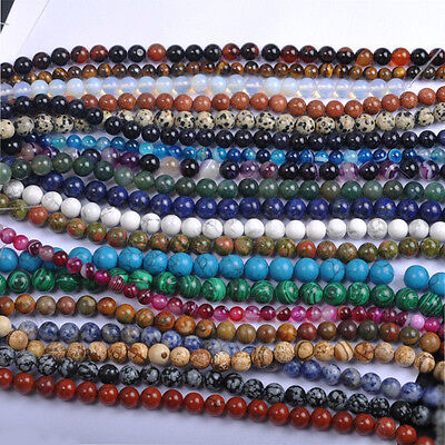 Wholesale Natural Round Spacer Gemstone Loose Opal Beads Jewelry Making Craft