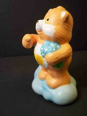 Vintage Care Bears figurine Friend Bear American Greetings 1984 3""